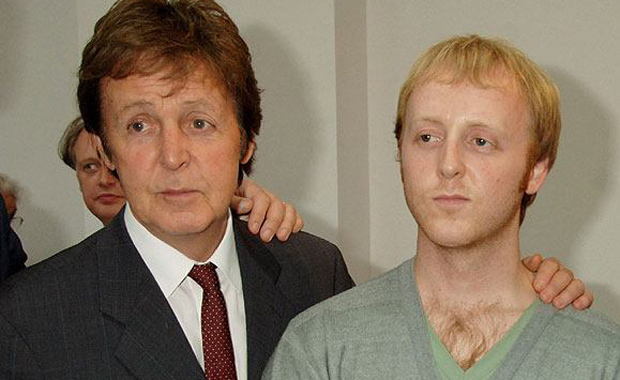 Paul e James McCartney
