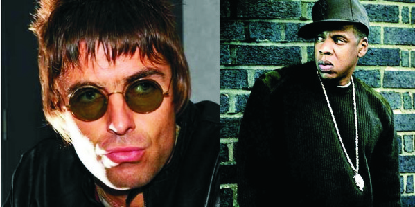 Liam Gallagher e Jay-Z