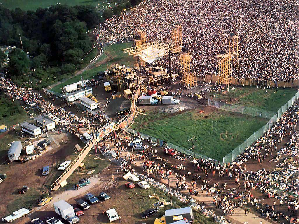 Festival Woodstock em 1969