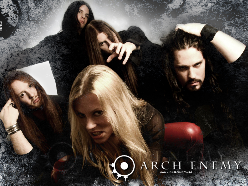 Angela Gossow, a voz poderosa do Arch Enemy