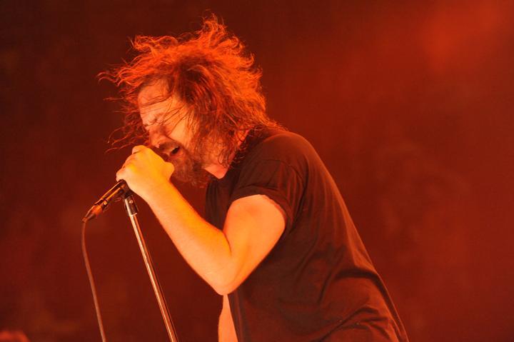 Eddie Vedder vocalista do Pearl Jam - 17/08/09 - Manchester