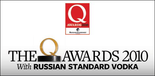 Q Awards 2010
