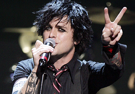 Billie Joe, vocalista do Green Day