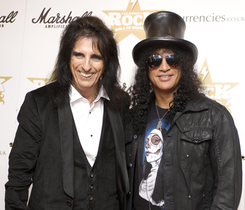 Alice Cooper e Slash
