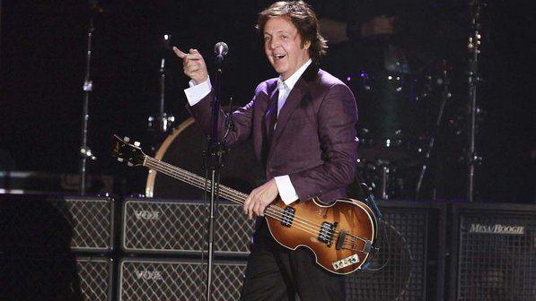 Show de Paul McCartney em Porto Alegre (Foto: Veja)