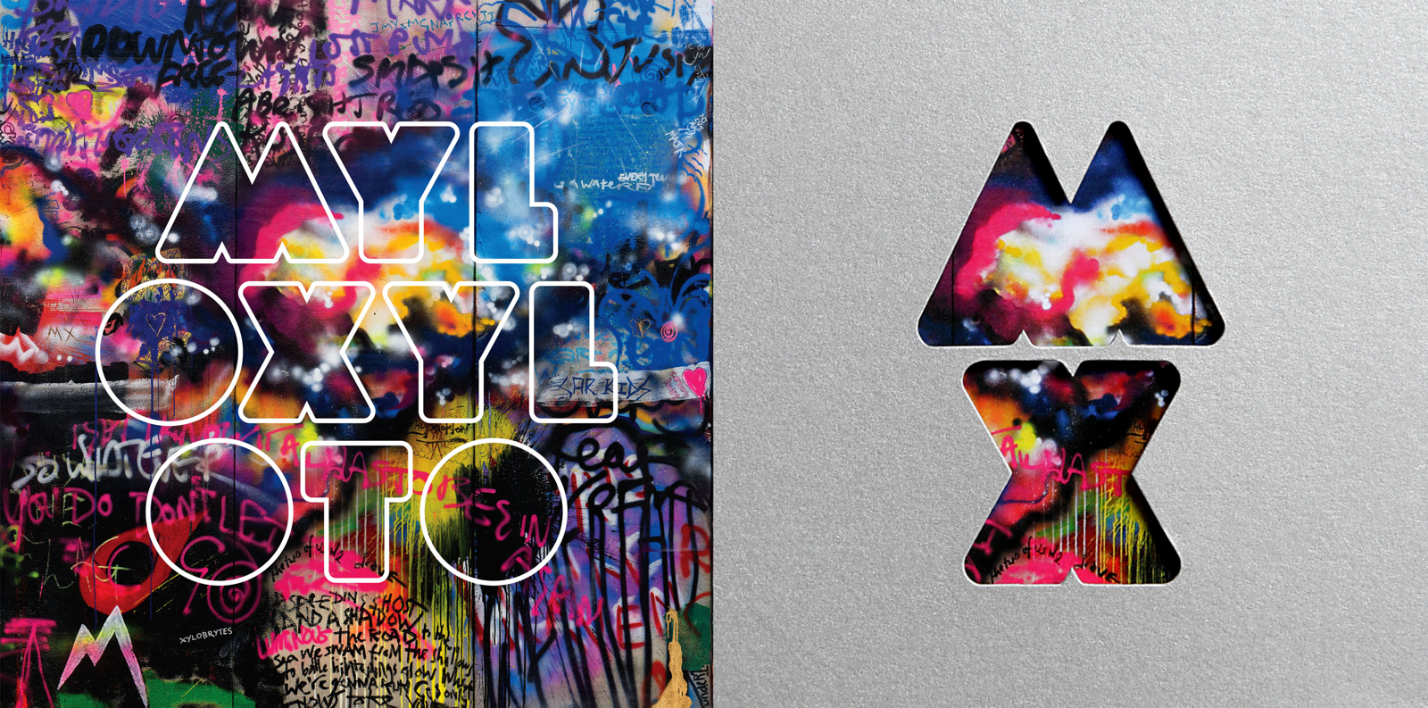 novo cd coldplay mylo xyloto