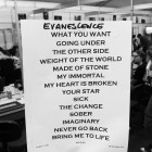 Setlist Evanescence