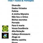 Setlist Titãs + Xutos & Pontapés