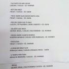 Setlist Cazuza - O Poeta Está Vivo