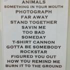 Setlist Nickelback