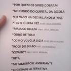 Setlist Viva a Raul Seixas