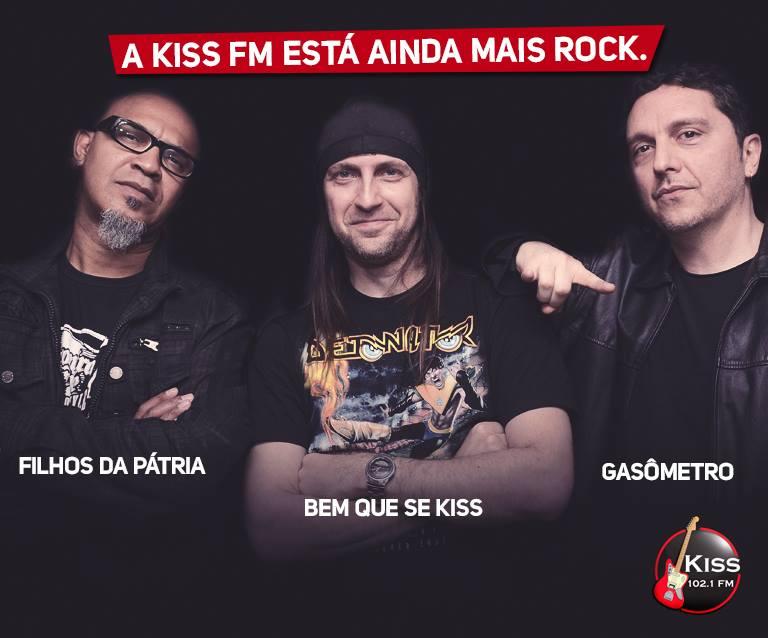 Clemente Nascimento e Gastão Moreira entram na programação da Kiss FM