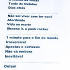 Setlist CPM 22 - Rock in Rio 2015