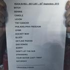 Setlist Elton John - Rock in Rio 2015