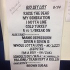Setlist Hollywood Vampires - Rock in Rio 2015