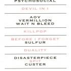 Setlist Slipknot - Rock in Rio 2015