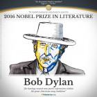 Bob Dylan Nobel Literatura - 2016