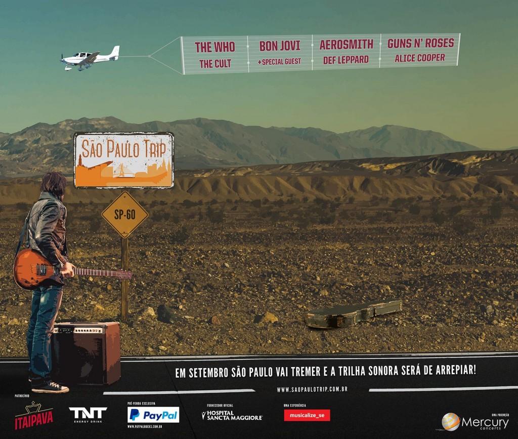 """""""São Paulo Trip"""": Produtora divulga preços e cronograma do evento; Vendas começam amanhã"""